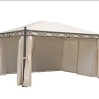 Enclosed Steel Gazebo
